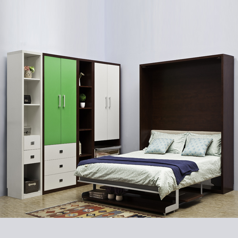 Space saving Murphy wall bed