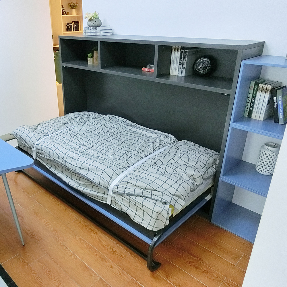 Multifunctional bedroom furniture wall bed