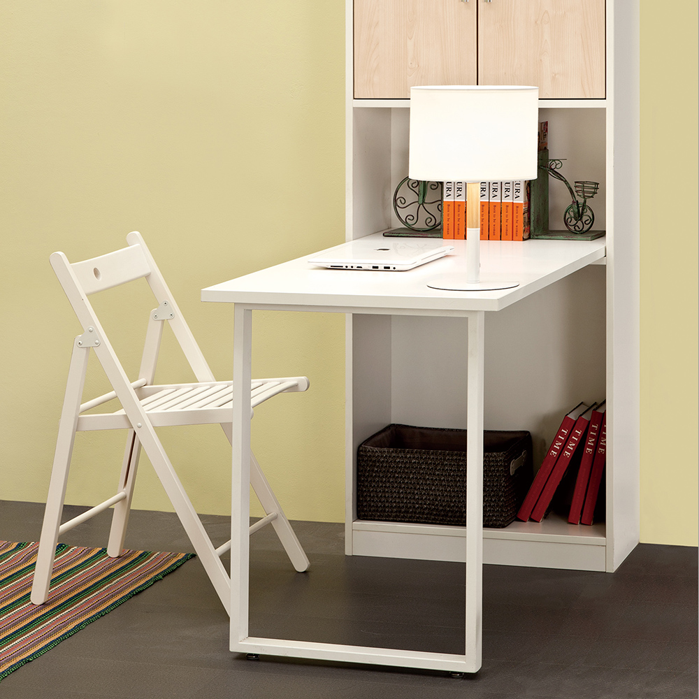 Wholesale white wooden folding chair