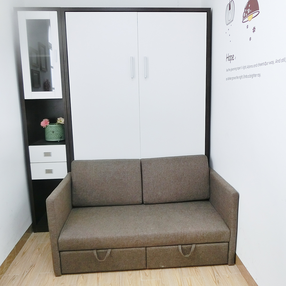 Murphy wall bed with sofa