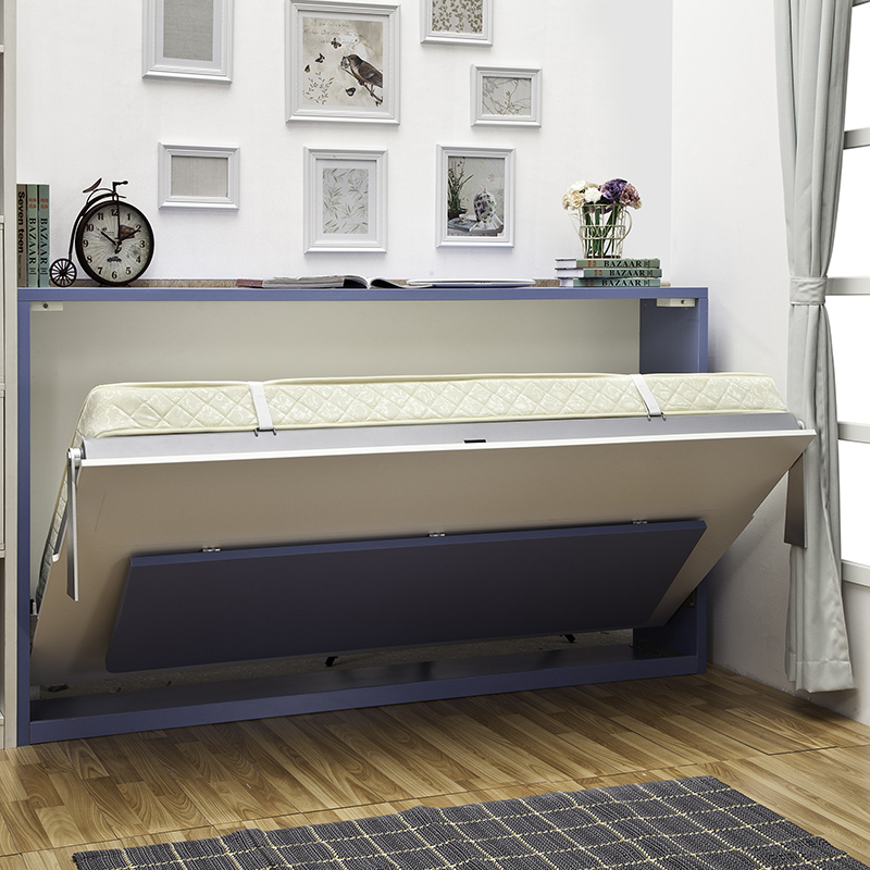 Horizontal wall bed