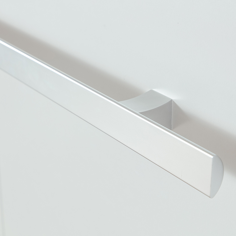 Handle for wall bed