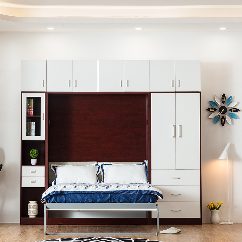 Customized Murphy bed with sofa