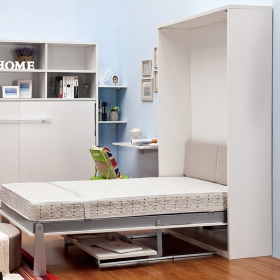 Vertical Murphy wall bed