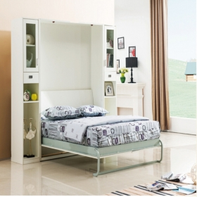 Creative vertical style wall bed