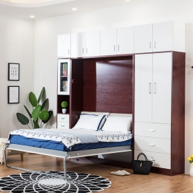 Plywood Vertical Murphy Bed