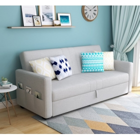 Modern simple furniture save space sofa double seats sofa bed