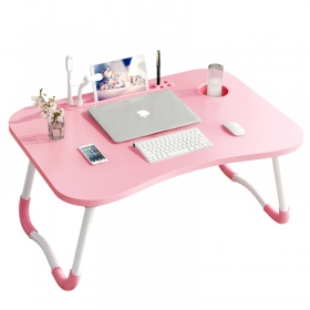 portable folding laptop table stand desk for bed and sofa